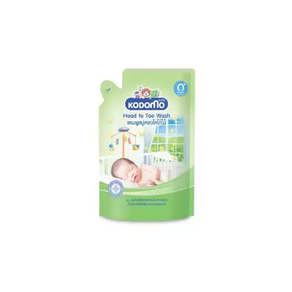 Kodomo Baby (0+) Head to Toe Wash Refill (380ml)