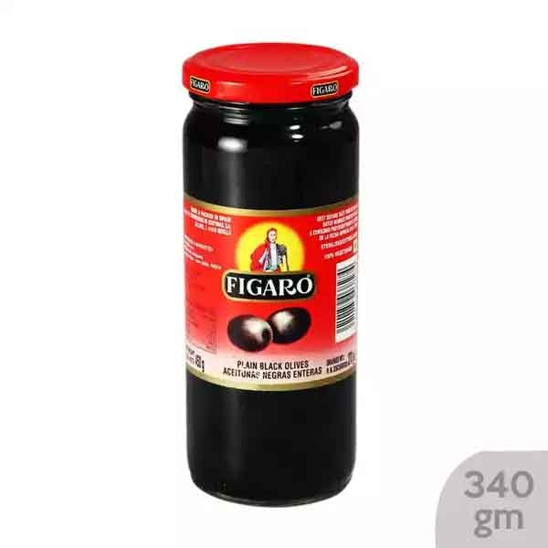 Figaro Pitted Black Olive (340 gm)