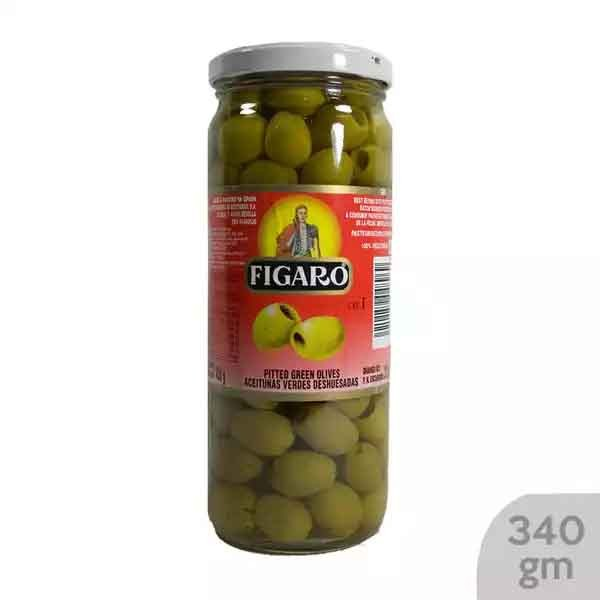 Figaro Pitted Green Olives (340 gm)