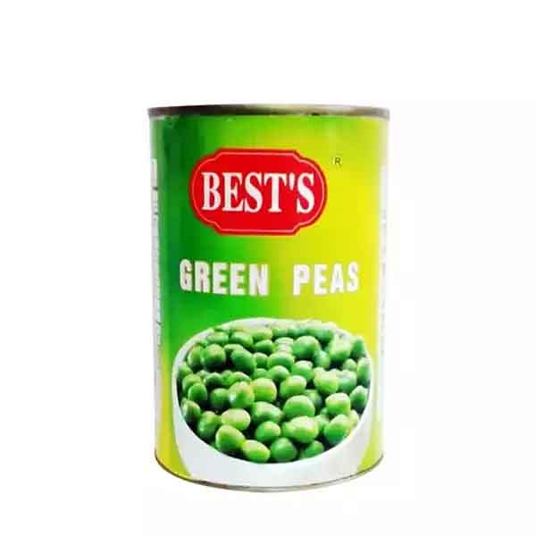Best's Green Peas Tin (400 gm)