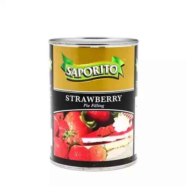 Saporito Strawberry Pie Filling Can (21 oz)