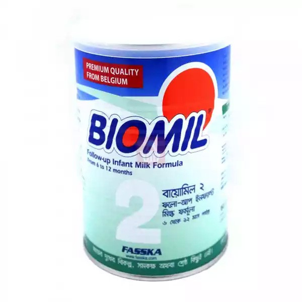 Biomil 2 Follow-Up Infant Milk Formula Tin (6-12 months) (400gm)