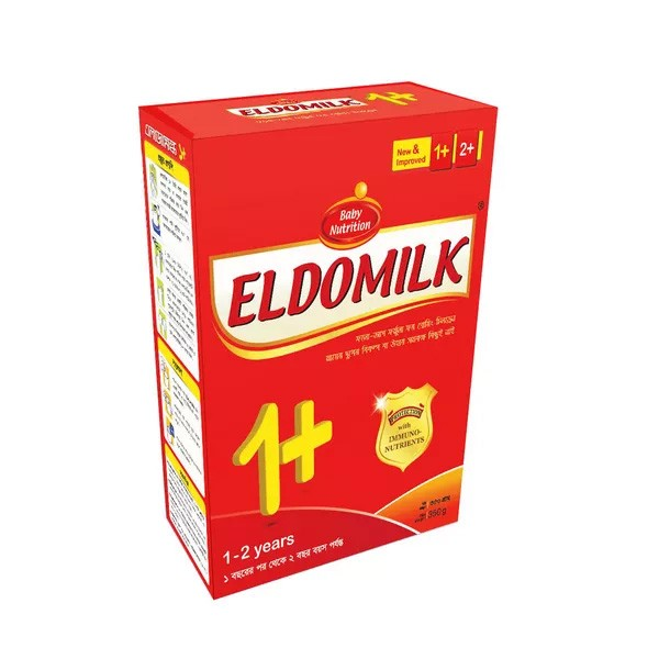 ELDOMILK1+ Growing Up Milk Powder BIB (1 - 2 Years) (350gm)