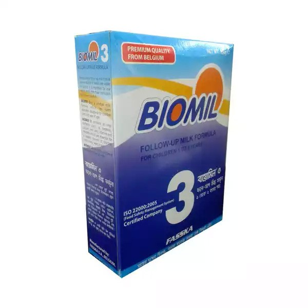 Biomil 3 Follow-Up Milk Formula Powder (1-2 years) (350gm)