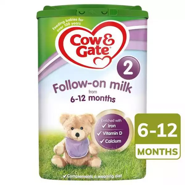 Cow & Gate Follow On Milk 2 (From Six Months) (800gm)
