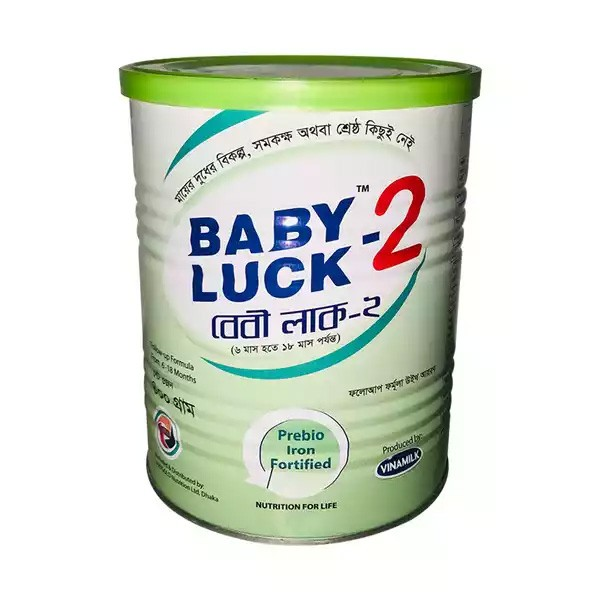Baby Luck 2 (6-18 months) Tin (400gm)