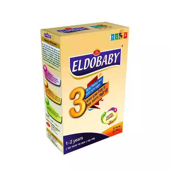 ELDOBABY 3 Follow Up Formula BIB(1 - 2 Years) (350gm)