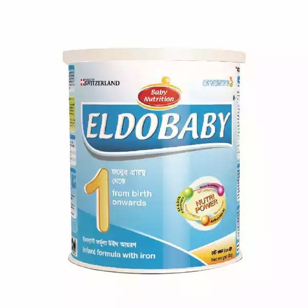 ELDOBABY 1 Infant Formula With Iron Tin (0-6 Months) (400gm)