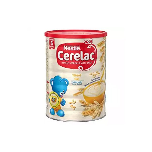 Nestlé Cerelac Wheat With Milk (6 months +) Tin (1kg)