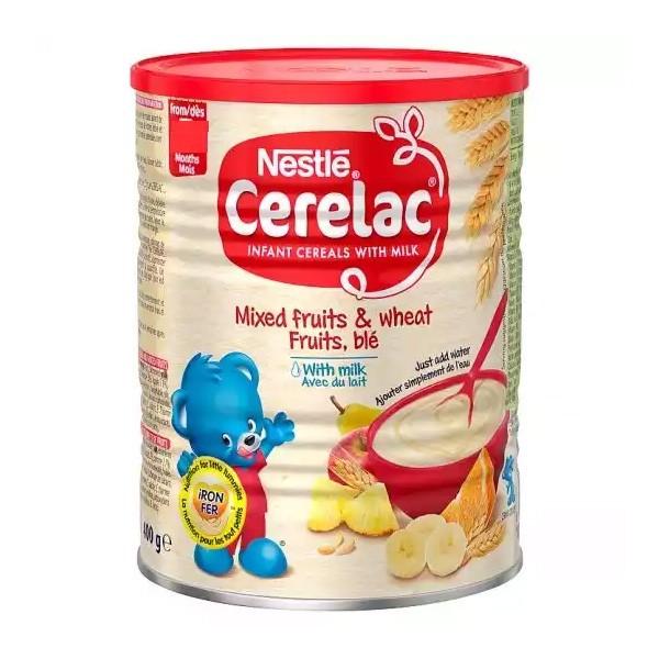 Nestlé Cerelac Mixed Fruits & Wheat With Milk (8 months +) Tin (400gm)