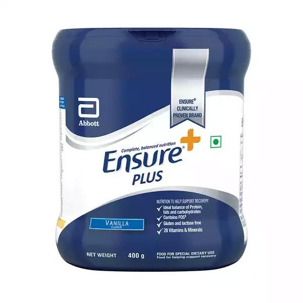 Ensure Plus Vanilla Flavour Powder Jar (400gm)