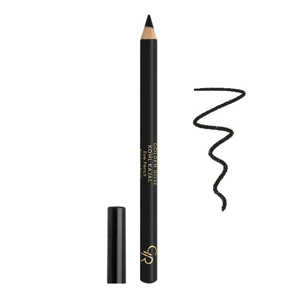 Golden Rose Kohl Kajal Eye Pencil (Blackest Black)