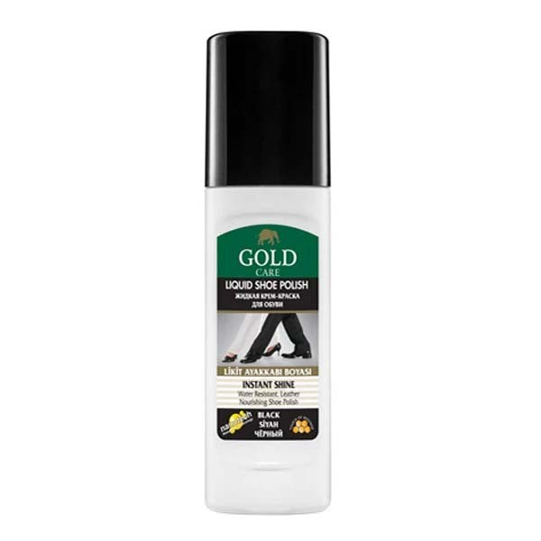 Gold Care Instant  Shine Liquid Shoe Polish