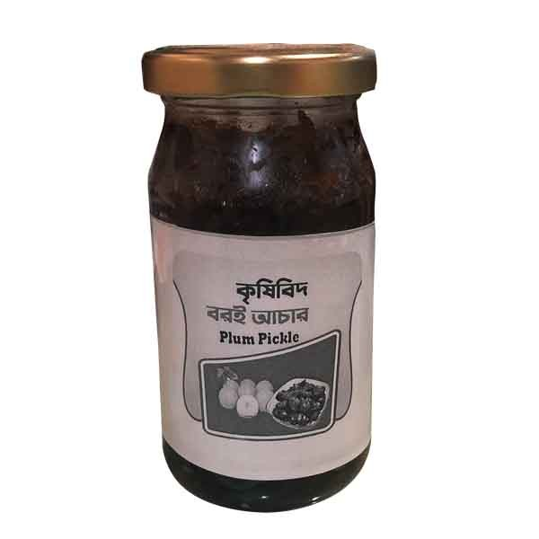 Krishibid Plum (Boroi) Pickle (400 gm)