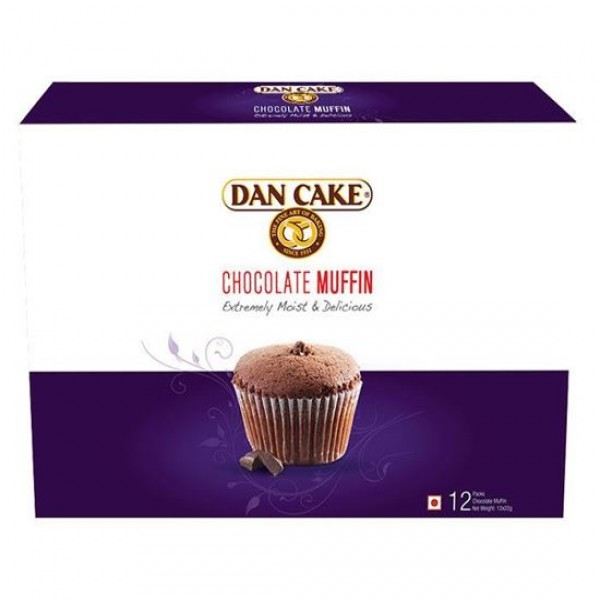Dan Cake Chocolate Muffin 12 packs