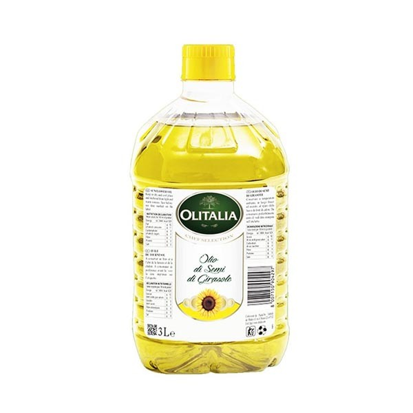 Olitalia Sunflower Oil  (3 Ltr)