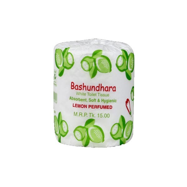 Bashundhara Toilet Tissue Lemon White Perfumed  ( Each)