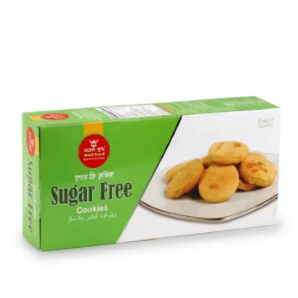 WELL FOOD Sugar Free Cookies Biscuit (300gm)