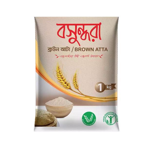 Bashundhara Brown Atta  (1 kg )