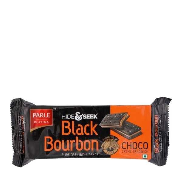 Parle Hide & Seek Black Bourbon Choco Creme Biscuit (100 gm)