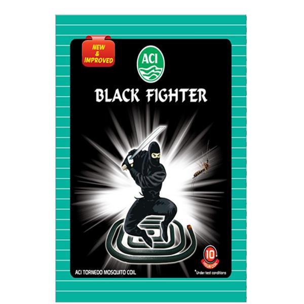 ACI Black Fighter Jumbo Mosquito Coil (Big)