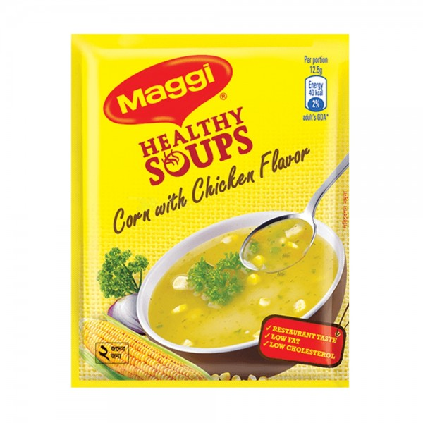 Nestlé MAGGI Healthy Soup Corn With Chicken Flavor (1 pcs)