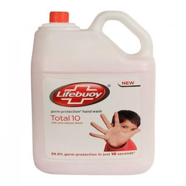 Lifebuoy Liquid Hand Wash Total 10, 5 Liter