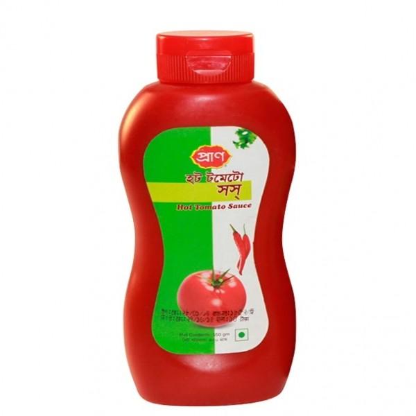 Pran Hot Tomato Sauce (550gm)