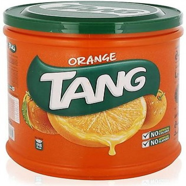 Tang Orange Drink Powder Jar- Imported- (2.5 kg)