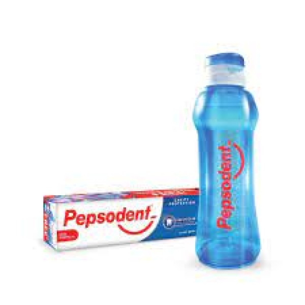 Pepsodent GermiCheck Toothpaste 200 gm (Free Water Bottle)