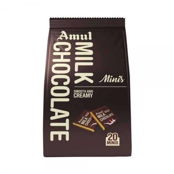 Amul Milk Chocolate Minis Gable Pouch (100 gm)
