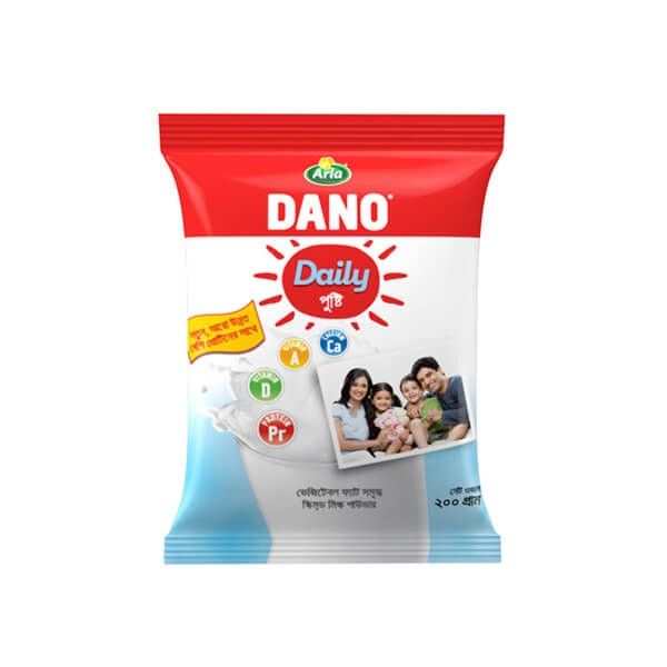 Arla DANO Daily Pushti Milk Powder – 200gm