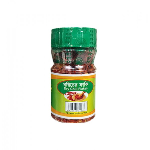 DRY CHILLI FLAKES - 30 gm