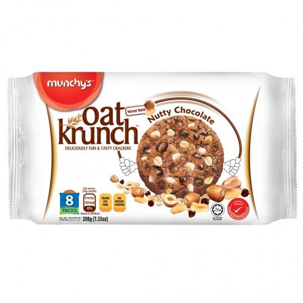 Munchy's Oat Krunch Nutty Chocolate (208 gm)