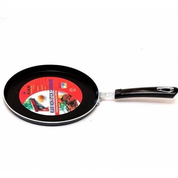 Kiam Non-Stick Cookware Roti Tawa Black (26 cm)