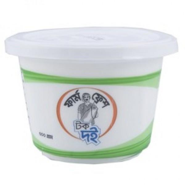 Farm Fresh Sour Yogurt (500 gm)